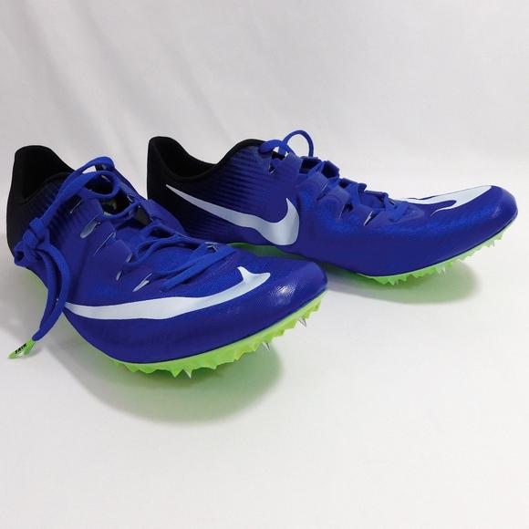19508dac2 Nike Zoom Superfly Elite Sprinting Shoe Blue Black.  M 5b6f9e21de6f62f8f029ae06